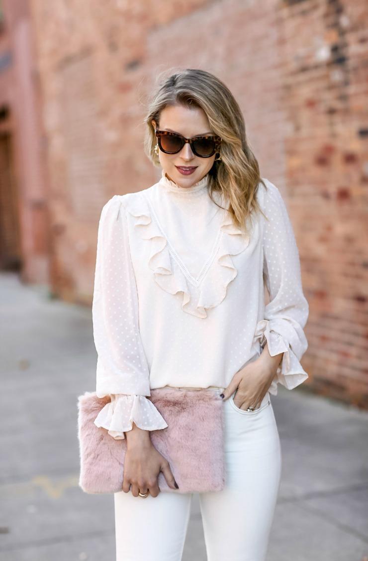 Love Sadie ruffled blouse
