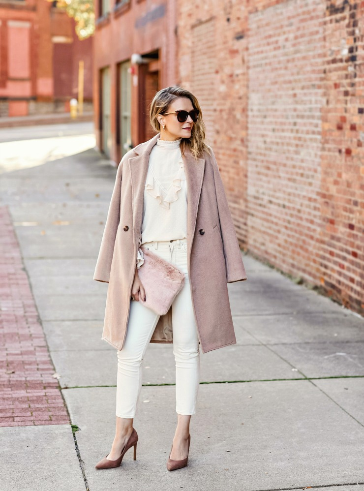 monochrome neutral outfit