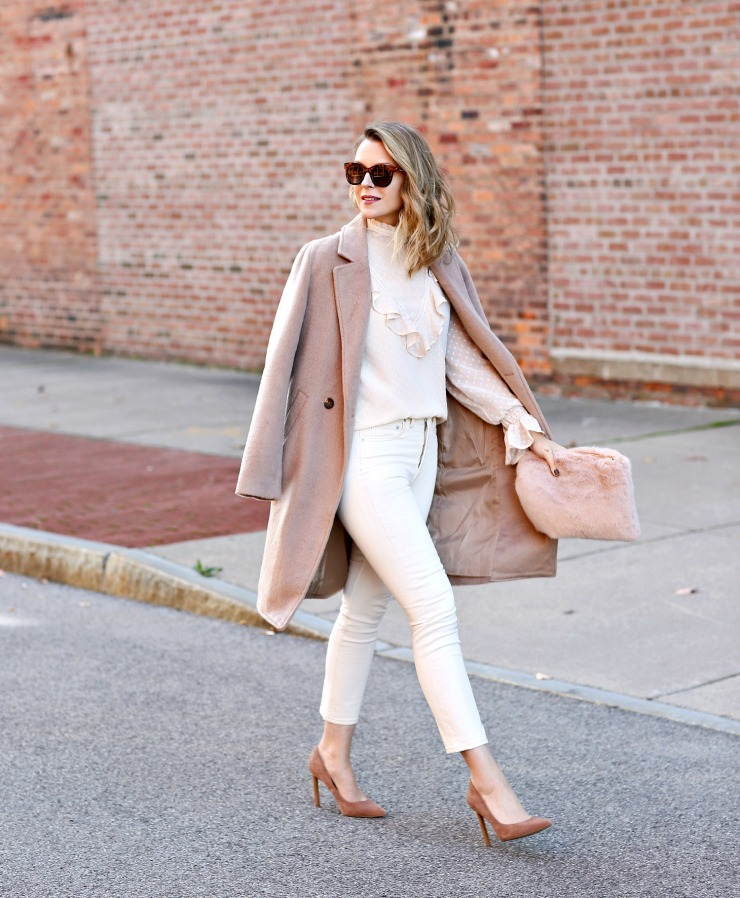 soft neutral outfit