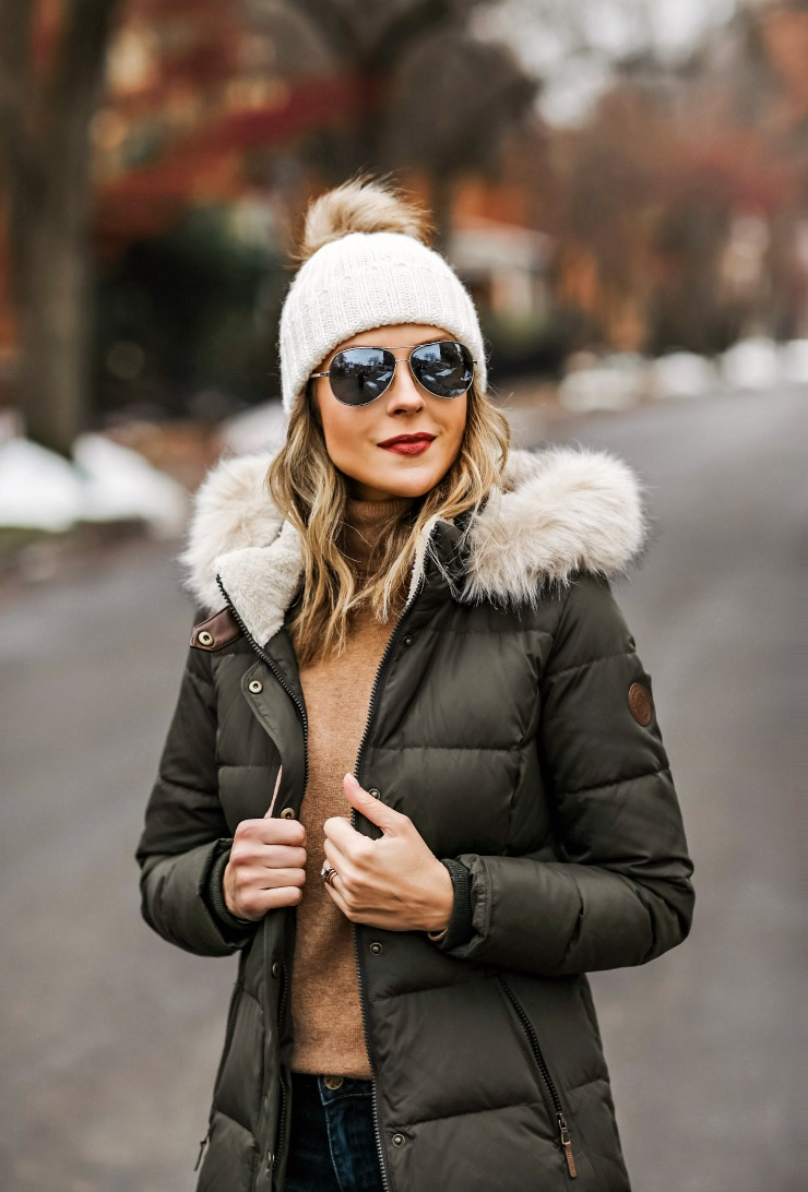 Warm winter layers