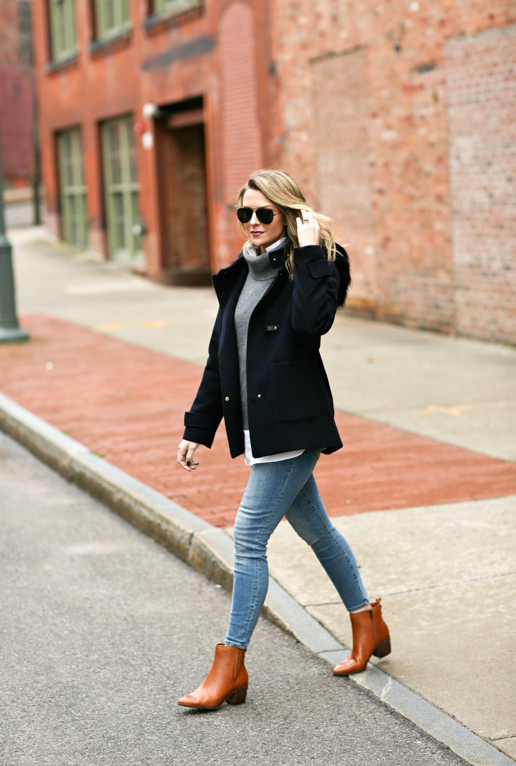 classic layered look