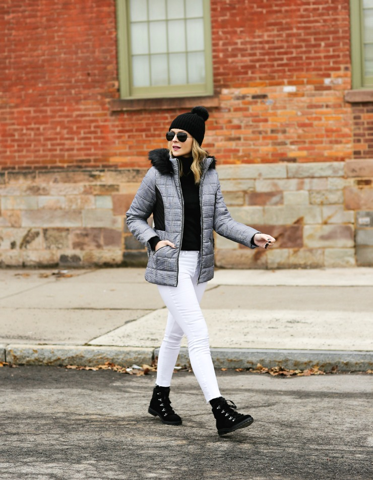 casual neutral winter outfit