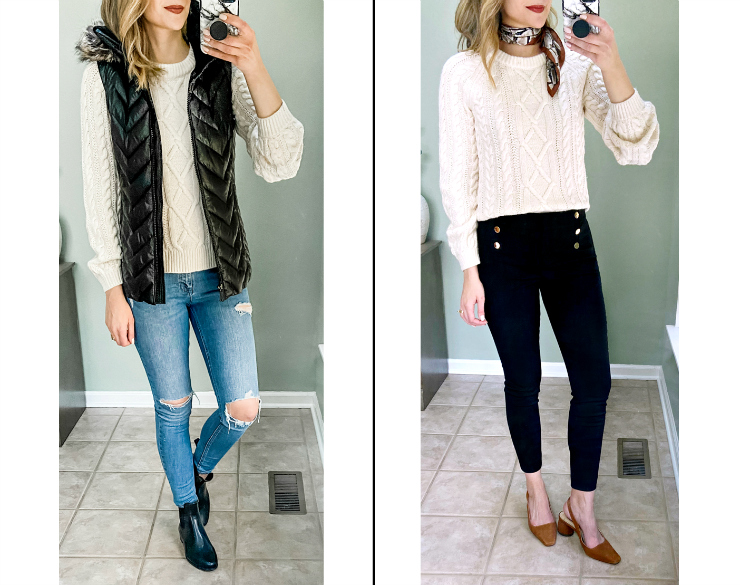Abercrombie Cable Knit Sweater