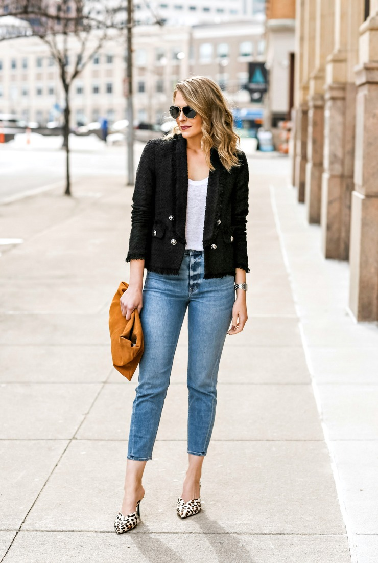 how to dress up mom jeans