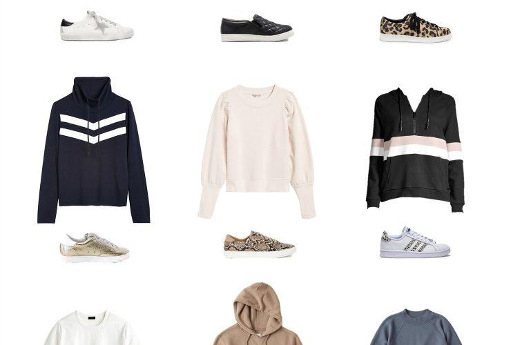 sweatshirt & sneaker combos