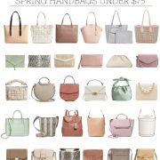affordable spring handbags
