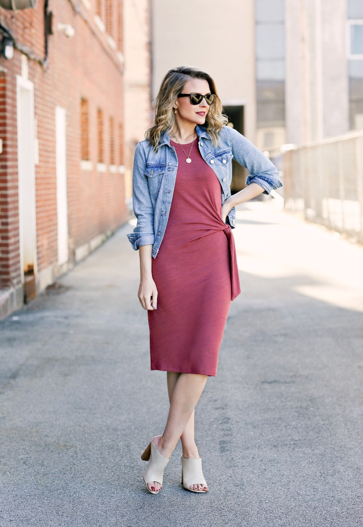 Gap knit midi dress
