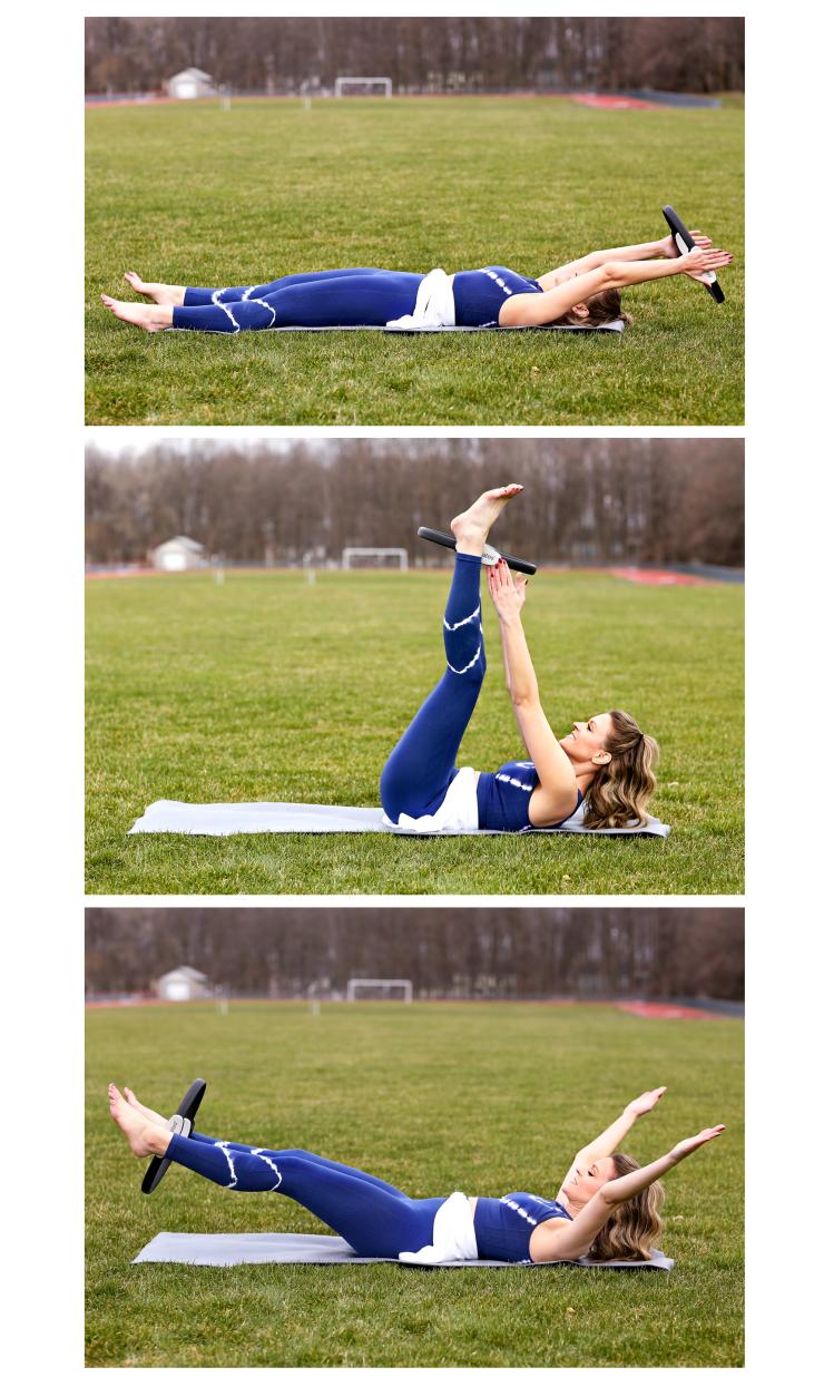 Pilates Circle Ab Workout