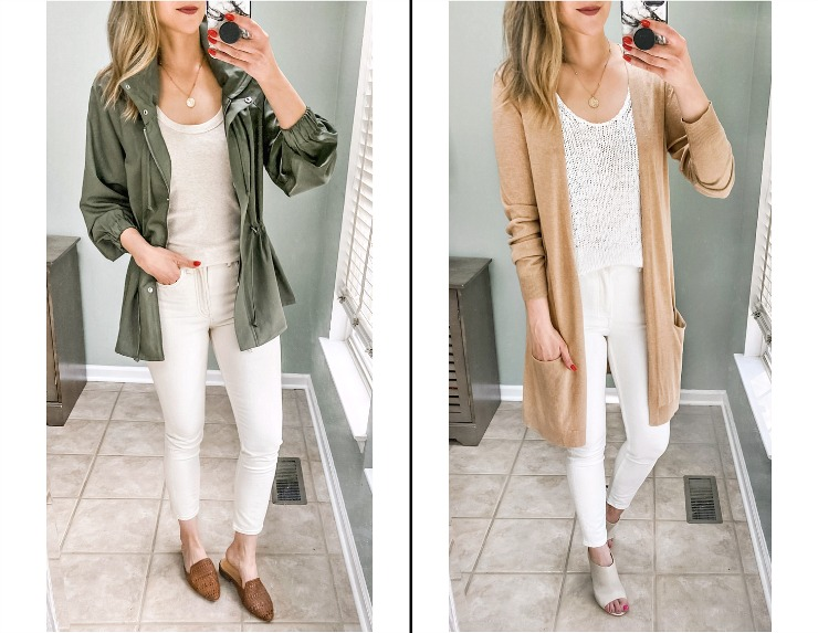 spring layered outfits