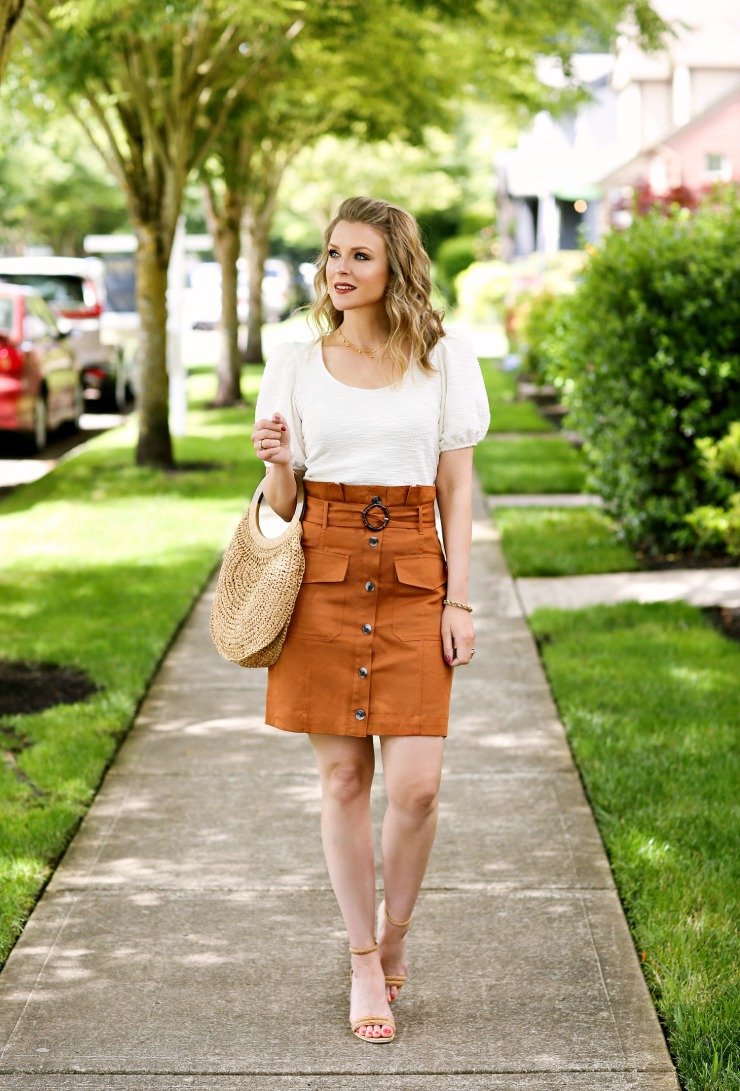 Banana Republic Utility Skirt