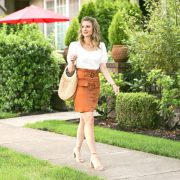 Chic Utility Skirt