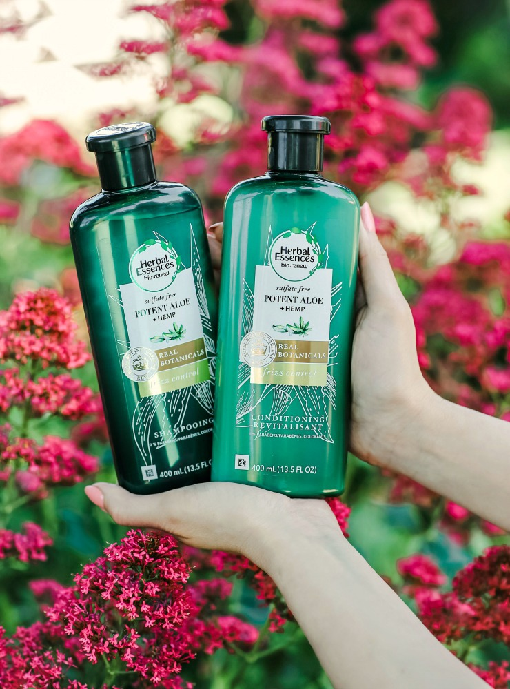 Herbal Essences Frizz Control Shampoo & Conditioner