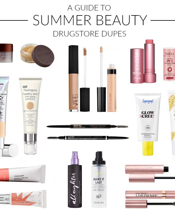 Summer Beauty Favorites + Drugstore Dupes