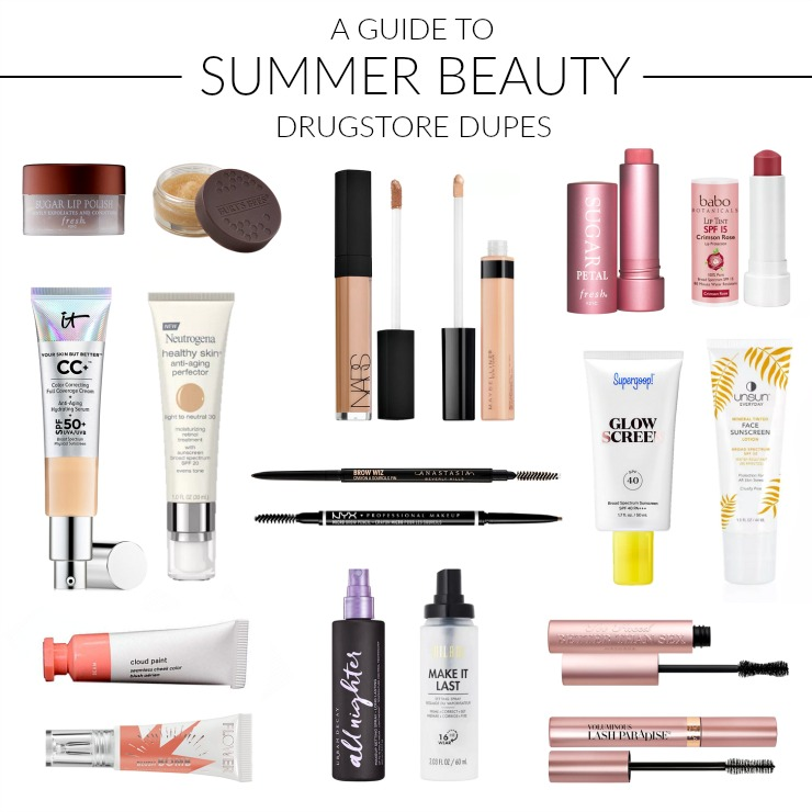 summer beauty drugstore finds