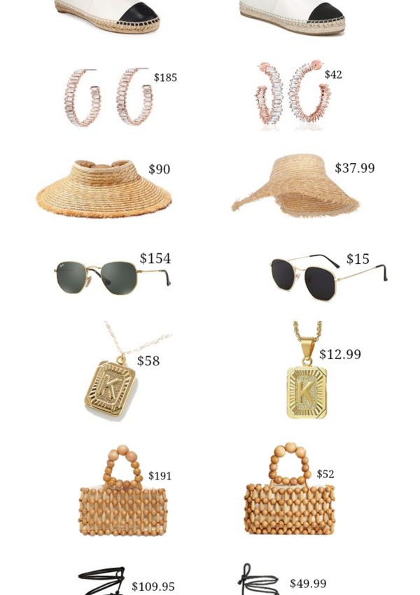 Look For Less: Summer Accessories
