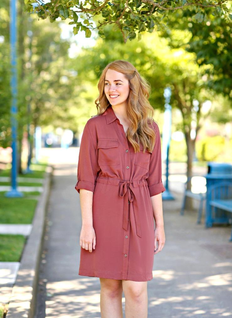 a.n.a shirt dress