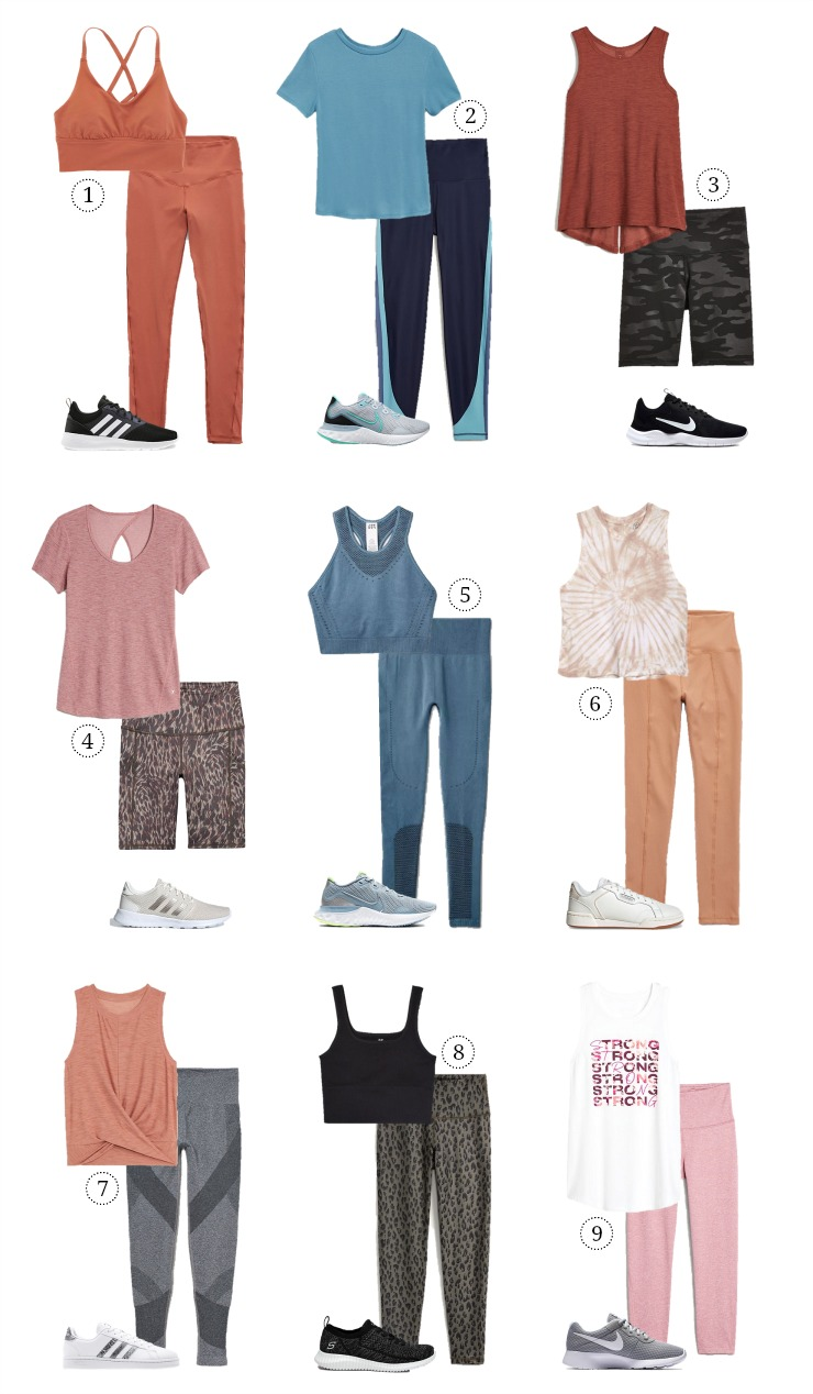 affordable summer activewear