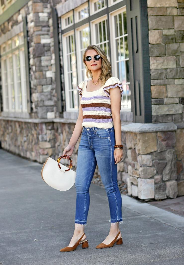 Crop Straight Leg Jeans