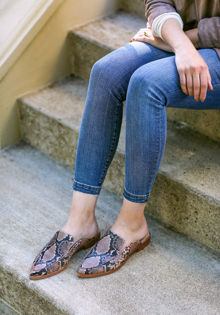 Treasure & Bond Loafer Mules