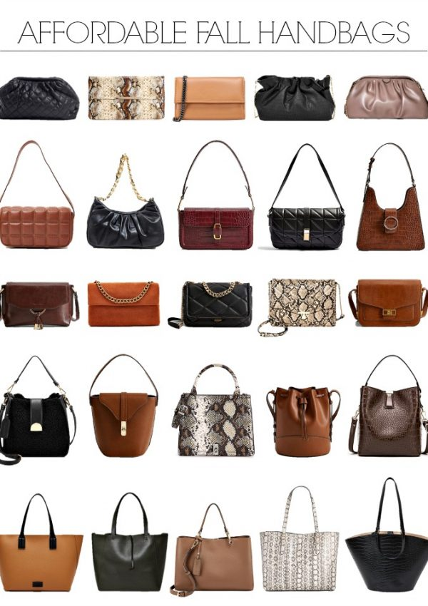 The Best Affordable Handbags For Fall