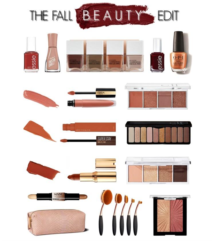fall beauty edit 2020