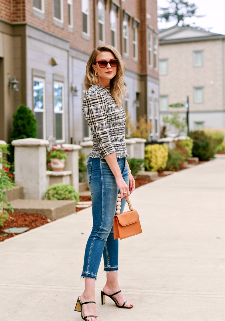 how to make plaid look modern