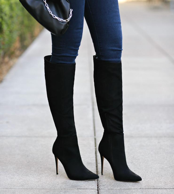 Express Knee High Boots