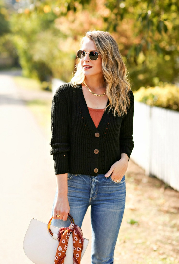 UpWest Cropped Cardigan