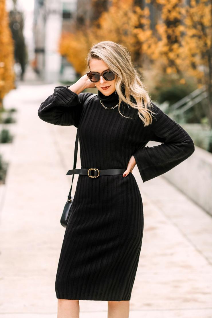 BP Ribbed Sweater Dress