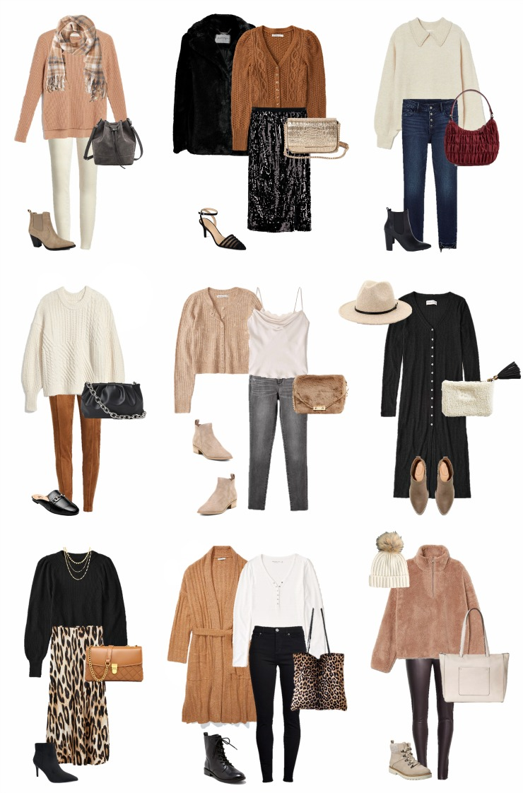 affordable winter outfits