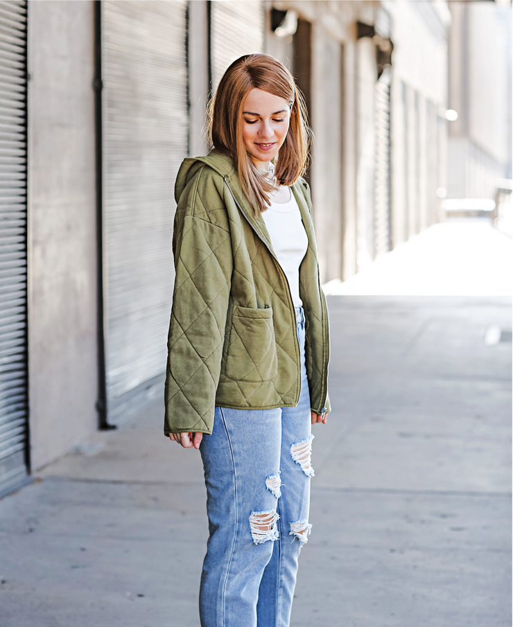 Forever 21 Quilted Jacket
