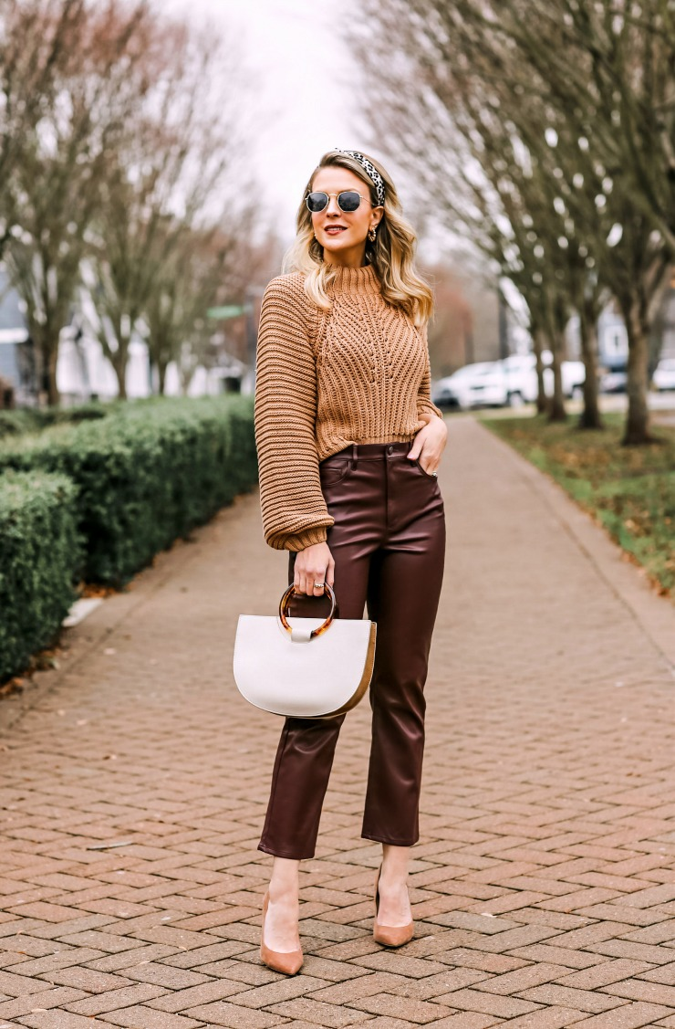 how to style crop flare pants