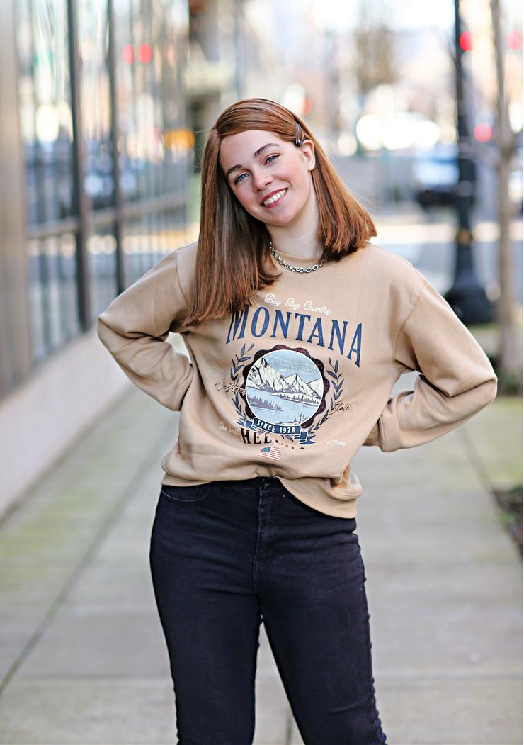 Montana Graphic Sweatshirt