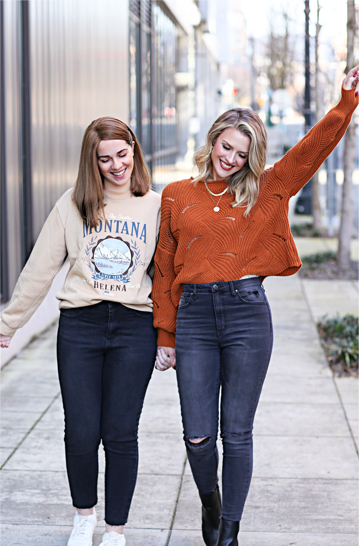 mother daughter Forever 21 style