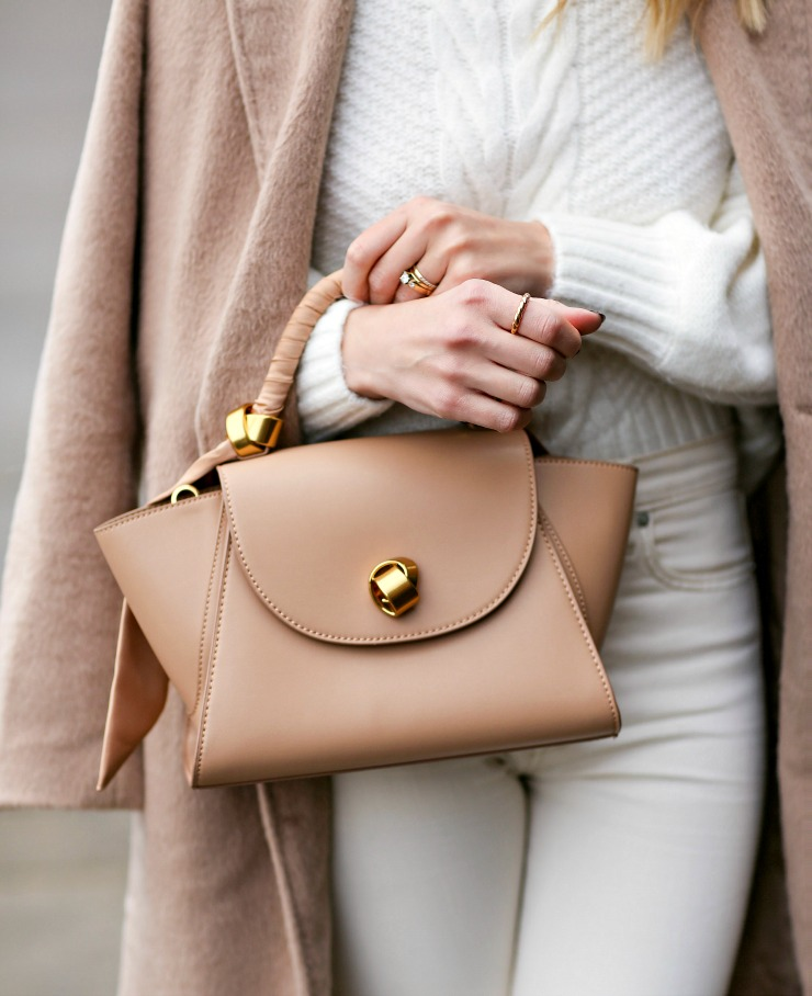 neutral wing satchel