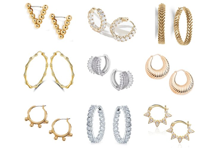 Chic Hoop Earrings