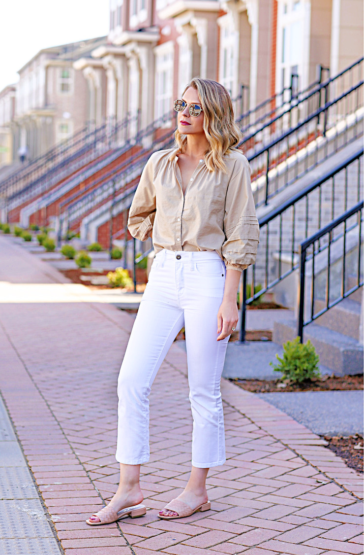 how to wear crop flares