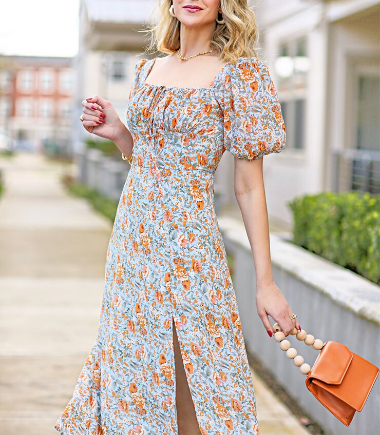 Reformation inspired dress