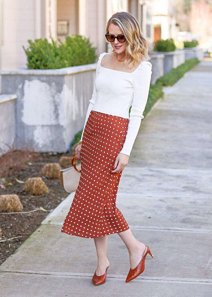 sophisticated polka dots