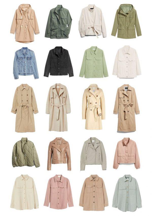 spring outerwear under $100