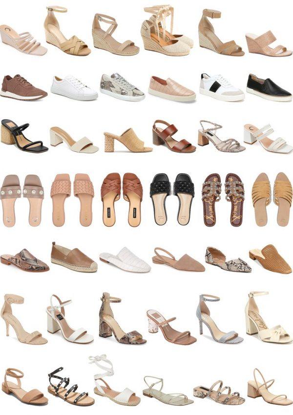 Affordable Spring Footwear