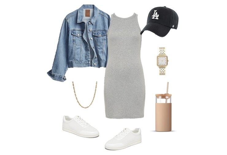Tank Dress Outfit