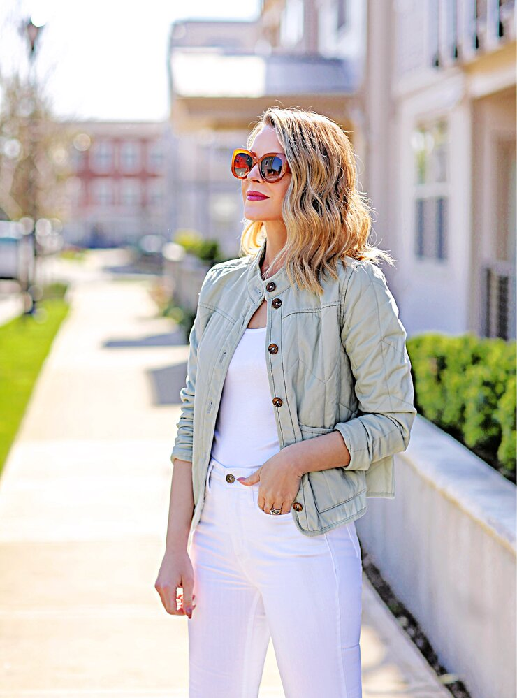 ana quilted jacket