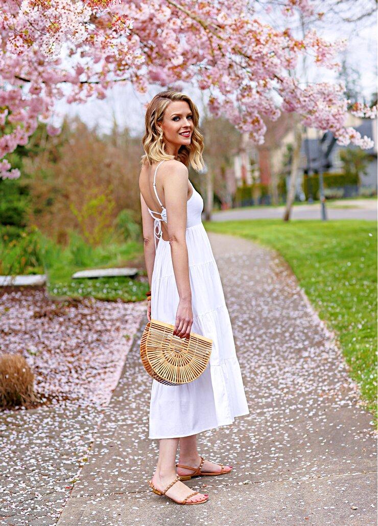 Petal & Pup White Dress
