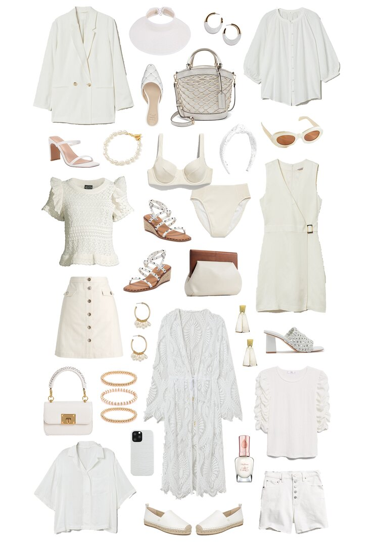 spring to summer whites