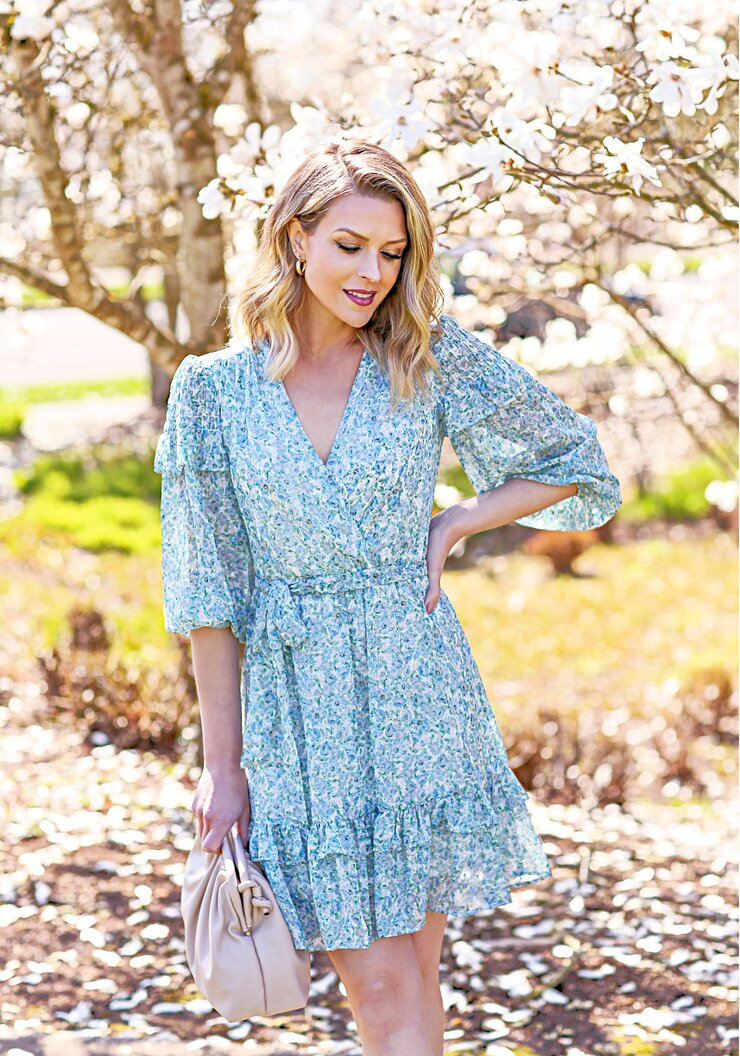 the perfect spring floral dress