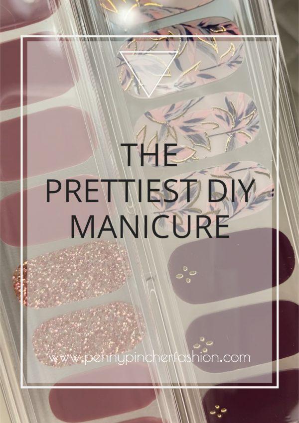 The Prettiest DIY Manicure